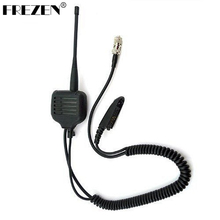 Speaker Mic For Motorola Walkie Talkie Radios GP328 GP340 GP360 GP380 with UHF/VHF Antenna(China)