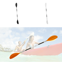 Portable Detachable Asymmetrical Aluminum Kayak Paddle Float Afloat Oar Marine Water Sports Rowing Boat Canoe Paddles 2 Colors(China)