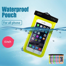 New Waterproof Pouch Underwater Universal Diving Bag Mobile Phone Camera Dry Swimming bag Case Cover For iphone Samsung Xiaomi(China)