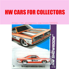 2013 New Hot 1:64 Cars wheels 68 flymouth barracuda forumula car Models Metal Diecast Car Collection Kids Toys Vehicle  Juguetes