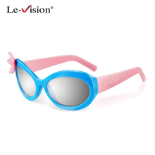 Le-Vision Kid Passive 3D Glasses New Flower RealD Circular Polarized 3D Glasses for LG TV Cinema Film Movie RealD 3D Glasses