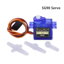 Free Shipping 1 pcs SG90 9g Mini Micro Servo for RC for RC 250 450 Helicopter Airplane Car