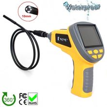 "EYOYO 3.5""LCD 4 LEDs Industrial Video Inspection Endoscope 10mm Camera Borescope 1M Tube length"