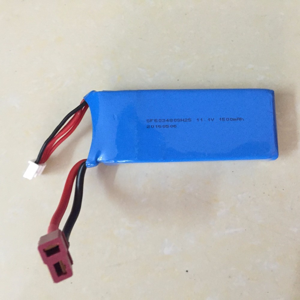 Original Wltoys V950 RC Helicopter spare part 11.1V 1500mah battery (In stock )<br><br>Aliexpress