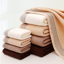 33x74cm Solid Color Microfiber Hand Towe lSquare Microfiber Clean Cloth  Solf And Absorbent Pure cotton honeycomb towel