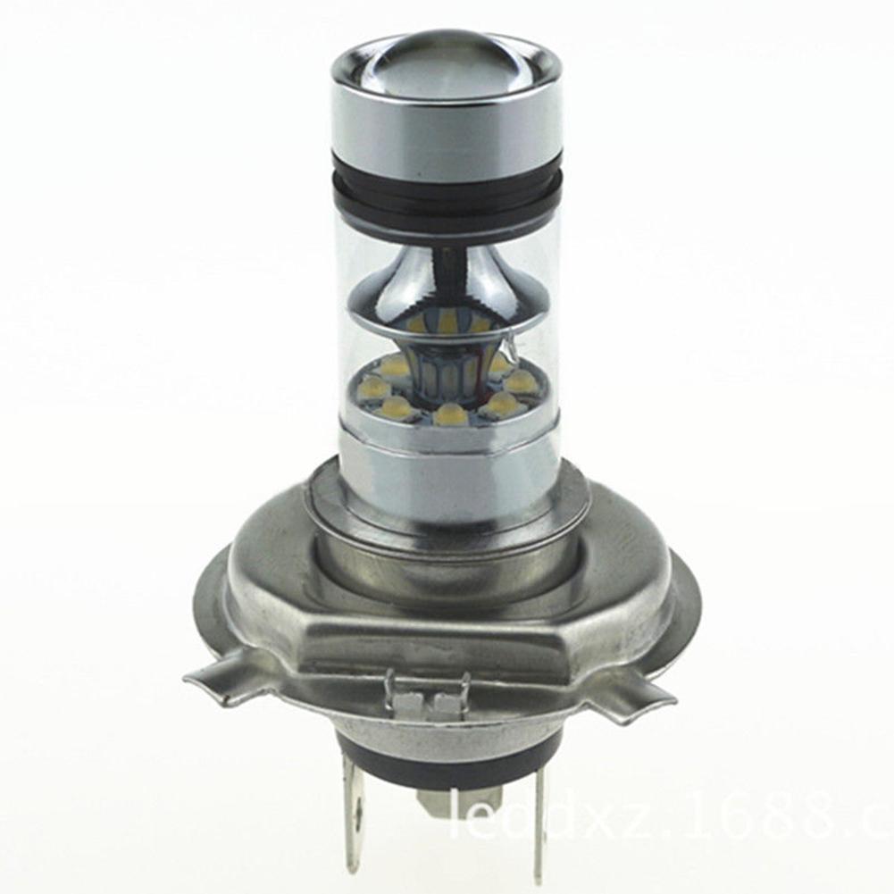 New Arrival 2x Car Styling Auto H4 100W 20 SMD LED Fog Headlight Foglight DRL 6000K True White Light Lamp Bulbs<br><br>Aliexpress