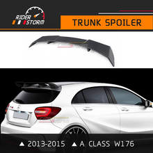 Buy Car Spoiler Class W176 Trunk Wing Rear Bootlid Lip Carbon Fiber Accessories Pre-Facelift Model 2013-2015 A180 A200 A250 for $189.90 in AliExpress store