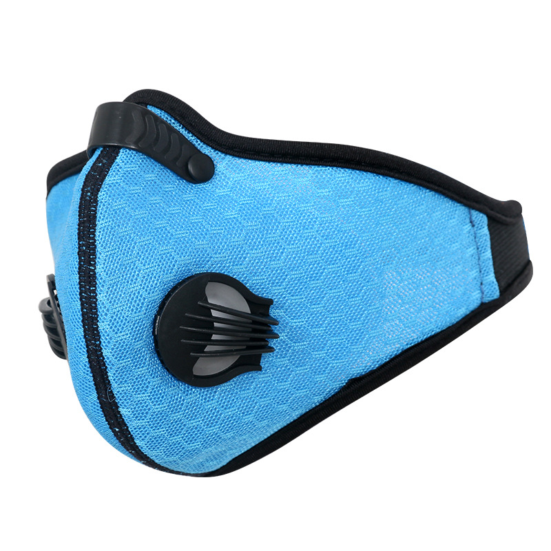 OUT Mesh solid color mesh riding masks activated carbon filter dustproof outdoor masks<br><br>Aliexpress