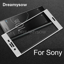 Buy Full Cover Ultra thin Tempered Glass Sony XZ1 Compact XA XA1 Ultra XC X XP Xperia Colorful Protective Film Screen Protector for $1.02 in AliExpress store