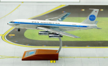 IF 1/200 Pan American World Airways Boeing 720 707 aircraft model alloy Polishing IF7200515P Limited Collector Model
