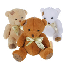 16cm Patch Bear Dolls Teddy Bear Soft Toy Bear Wedding Gifts Baby Toy Birthday gift brinquedos Soft toys