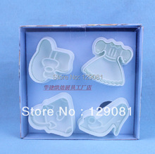 Baking tools cake mould three-dimensional cake mould sugar biscuit mould - clothing bag