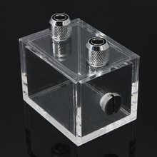 220ml Water Block Acrylic Water Tank Cooler Water Cooling Radiator for PC CPU High Quality(China)