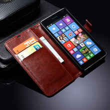 Cover Case For Nokia Lumia 535 Flip Wallet PU Leather Phone Bag For Microsoft Lumia 535 Cases Cover With Card Holder TOMKAS