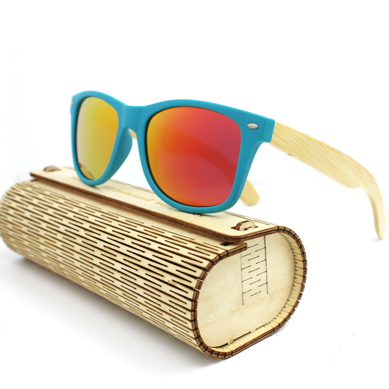 lunette Men Carter Bamboo Legs shades Sunglasses Women Wooden Sun Goggle Glasses Famous Brand designer Driver Driving Eyewear(China)