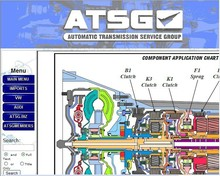 Auto software ATSG Automatic Transmissions Service Group Repair Information car repair manuals 2009