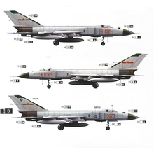 "1/72 Shenyang F-8II ""Finback""-B Fighter Aircraft Model for Collection Diecast Airplane Model Collections Gifts toys"