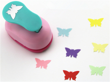 free shipping 1 inch butterfly design eva foam punch paper puncher scrapbooking cutter hole punch craft punch for DIY artwork(China)
