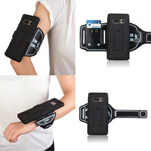 Premium Running Jogging Sports GYM Heavy Duty Arm Band Wrist band Wristband Case Cover Holder For Samsung Galaxy Note 8