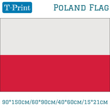 90*150cm/60*90cm/40*60cm/15*21cm Poland Polish National Football Fans Supporters Flag 5x3ft(China)