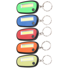 Multifunctional Mini Creative Keychain Pocket Torch COB Keyring LED Flash Light Lamp Outdoor Emergency Flashlight
