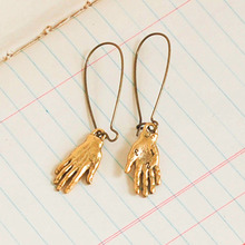 Buy Top Metal Gold/Silver Filled Hand Hoop Earrings Charms Frida Kahlo Costume Jewelry Hand Statement Earrings Women for $3.19 in AliExpress store