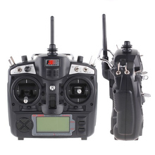 Clearance Sale 2.4G Digital Control Radio Model RC Transmitter Receiver 8 Model Memory 9 Channels for RC Drone Multicopter(China)