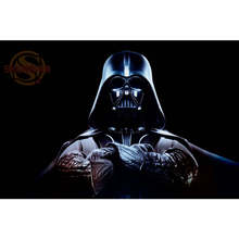 Star Wars #1 Poster Print Silk Fabric Print Poster Print Cloth Fabric Wall Poster Custom Satin Poster CD&2(China)