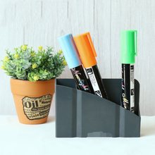 Hot Magnetic Plastic Organizer Storage Box For Pens Blackboard Desk Things Storage Box(China)