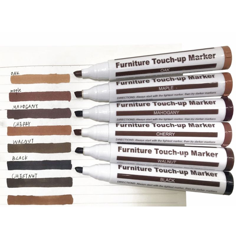 Wood Repair System Kit Filler Sticks Touch Up Marker Floor Furniture Scratch Fix Color-fast for long-lasting beauty Filler stick