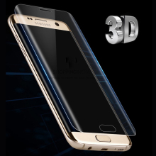 For Samsung Galaxy S7 Edge S6 Edge S8 Plus Note 8 Screen Protector Pet Film Full Cover (Not Tempered Glass)3D Curved Round Edge(China)