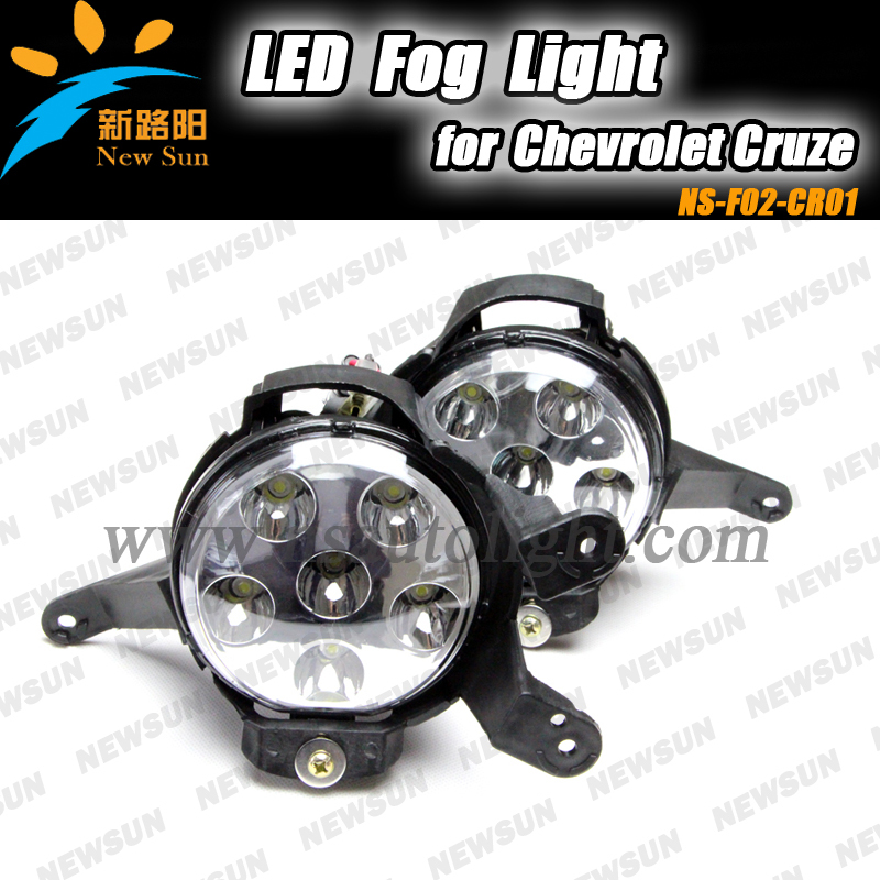 alloy housing round fog lamps waterproof IP67 auto fog lights led 18w 12-24V led fog light for Chevrolet Cruze<br><br>Aliexpress