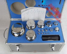F1 Grade 28 pcs 1mg-5kg 304 Stainless Steel Digital Scale Calibration Weights Kit Set w Certificate RH