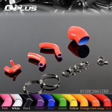 Silicone Boost Pipe Hose Kit fit for BENZ C200K W203 COUPE SPORT Kompressor 2001-2007(China)