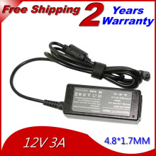 JIGU 12V 3A 4.8*1.7MM 35W Replacement Universal Notebook For Asus Laptop AC Charger Power Adapter High quality free shipping