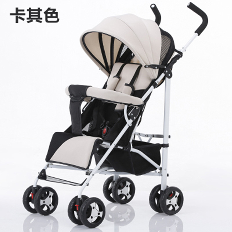 Easy Fold Baby Stroller With Carbon Steel Frame And Urltra-Light Shock Proof Baby Pram<br><br>Aliexpress
