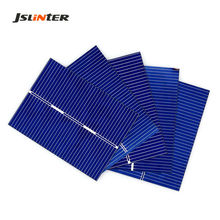 JSLINTER 100pcs mini Solar Cell Sunpower Batteries DIY Prices Cheap Photovoltaic Painel Solar China 0.5V 0.36W 39x52mm
