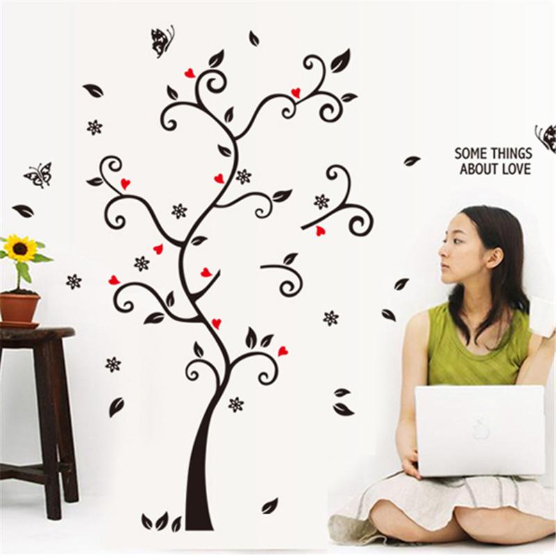 HTB1Ec6hRXXXXXXvapXXq6xXFXXX1 - DIY Family Photo Frame Tree Wall Sticker-Free Shipping