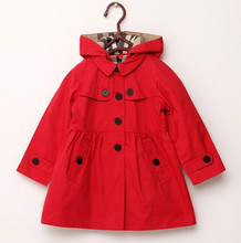 Hot Selling Fashion kids winter long sleeve jacket children cotton clothes toddler girls trench warm coat kids outwear(China)