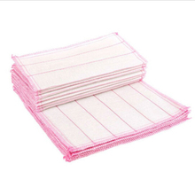 10Pcs/set 30 x 30 cm Kitchen Cleaning Cloth Cotton Fiber Wash Towel Non-stick oil Cotton Washing Cloth Cleaning Towel