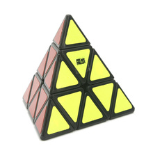 2015 Brand New Yongjun MoYu Triangle Pyramid Pyraminx Magic Cube Speed Puzzle Twist Cubes Educational Toys