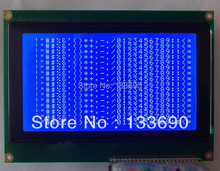 5.1 inch 240X128 Graphic Dot LCM,22pins.Interface on the right Controller RA6963 Blue white 240128 LCD display(China)