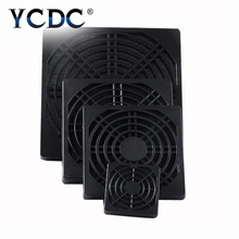 YCDC Dustproof 40mm 80mm 90mm 120mm Plastic Case Fan Dust Filter Guard Grill Protector Cover PC Computer(China)