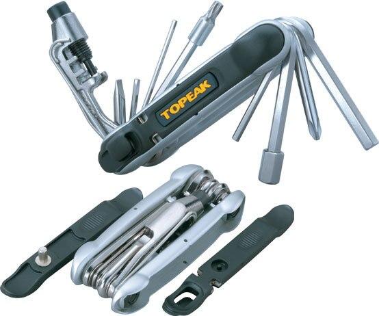 light weight/compact size Topeak TT2538B HEXUS 2 II 1 6MultiFunction Bike Tool TT2538B w/Chain Breaker&amp;Torx hardened steel<br>