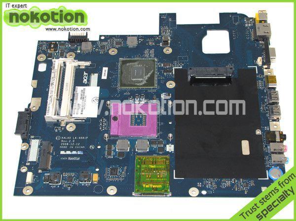 MB.AZA02.001 MBAZA02001 laptop motherboard for acer aspire 5737z LA-4681Pl nvidia MPC79MX-B2 ddr3<br><br>Aliexpress