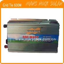 600W (10.5-28VDC) micro grid tie PV inverter, for 18V 720W solar panel with CE&RoHS approved, Free shipping!(China)