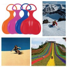 5 Colors Snow Board  Skiing Christmas Winter Snowboard Adult Kids Ski Sled Skiing Sleigh Grass Sand Outdoor Sport
