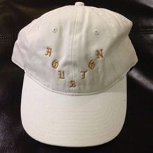 Kanye West new design style Pop Up Shop White Gold Adjustable Cap Hat Houston Toronto Losangeles San Francisco Pablo wolves hats
