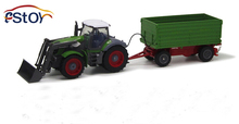 Children's Toys 1:28 Scale Model Latest Multi-Function Remote Farmer Tractor Works Dump Truck Remote Control Car