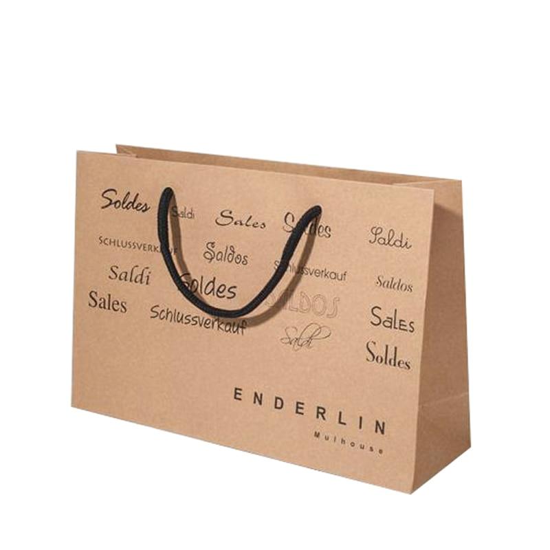 luxury kraft paper bag